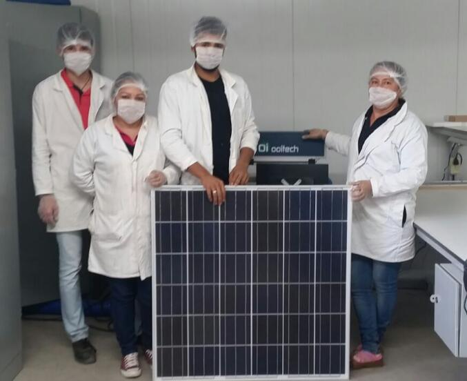 5MW solar panel production line factory  build in Mexico