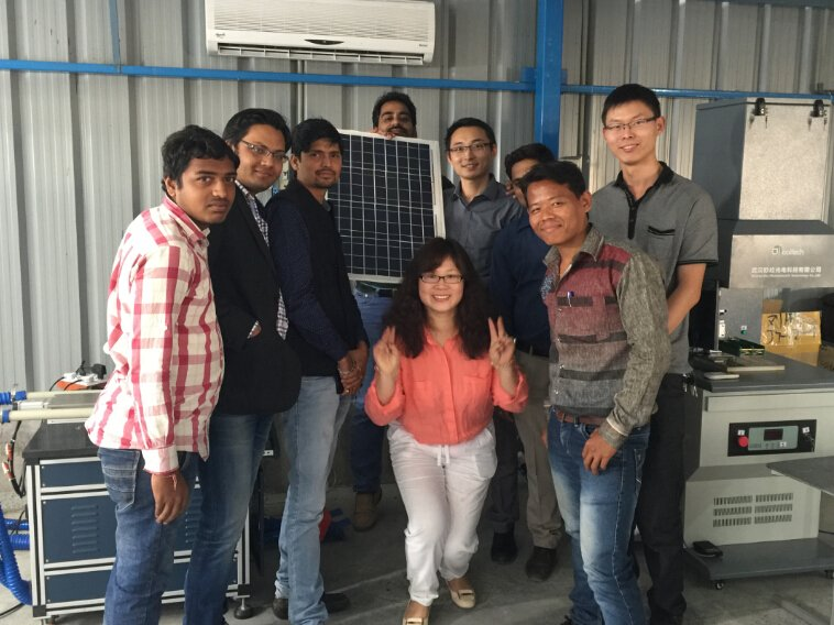5MW solar panel production line factory  build in  India  Vadodara