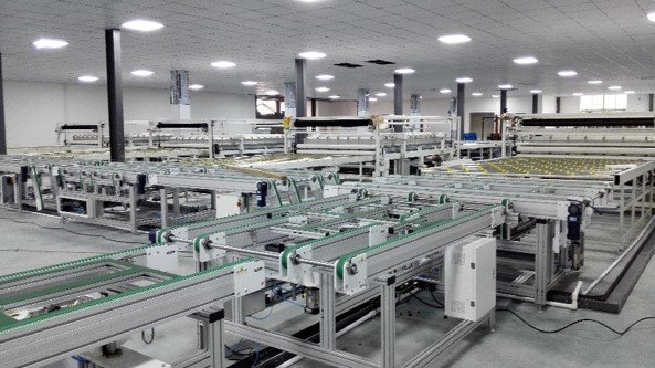 solar panel manufacturing machines