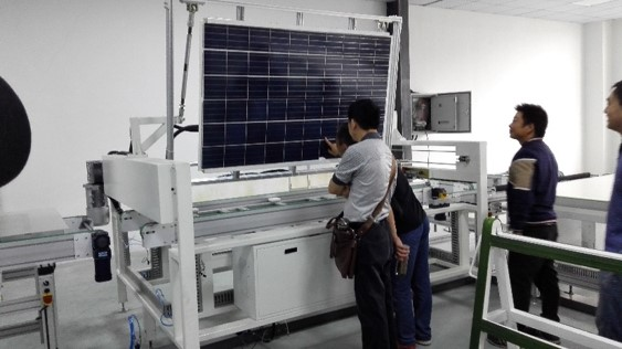solar panel making machines